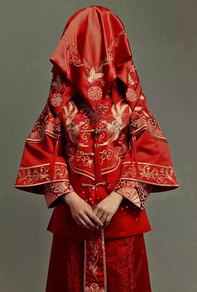 中式礼服 · 婚纱-当婚纱遇上传统礼服