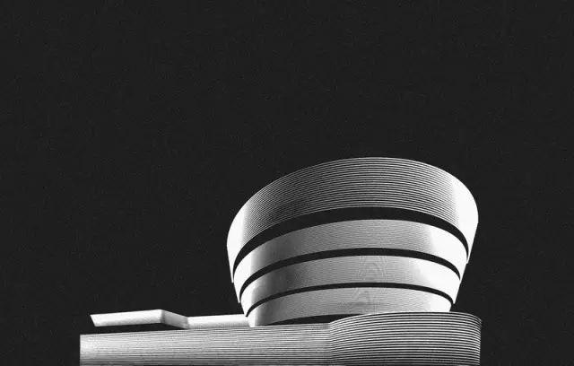 设计赏 用黑白线条描绘的著名建筑